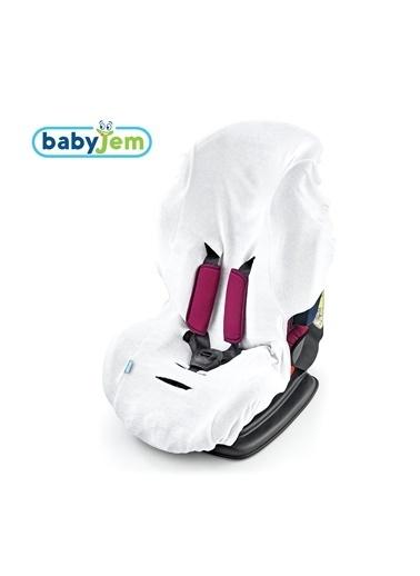 Baby Jem Oto Koltuğu Kılıfı Beyaz